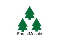 森林馬賽克