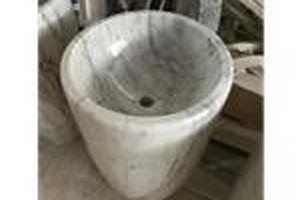 卡拉拉白洗手盆