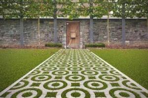环保PC景观植草砖
