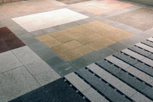 环保PC仿石路面砖
