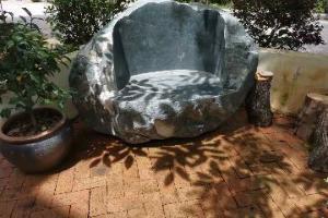 石材洗手盆 石桌 石椅 水