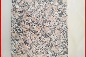G736珍珠红火烧面石材板喷砂面工程板荔枝面干挂板材定做