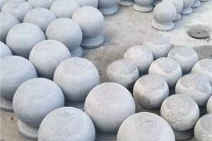 圆球挡车石