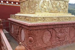 四川红浮雕