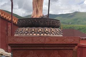 四川红雕刻