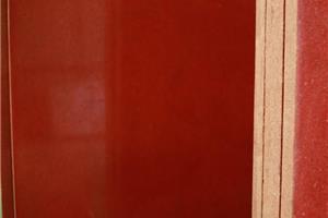 中国红光面成品板