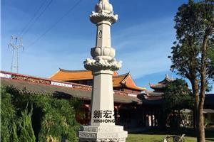 寺庙石雕经幢
