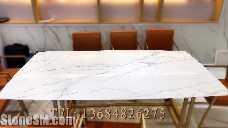 喷墨微晶石大桌面